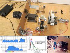 A DIY Fourier Transform Spectrometer   Hackaday