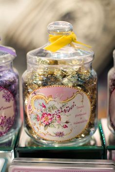 Pretty candy jar