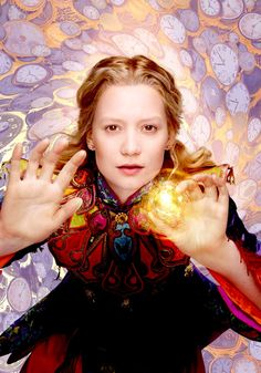 "Mia Wasikowska as Alice in ""Alice Through the Looking Glass"""