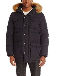"""Micro twill four pocket full length hooded parka       Famous Words of Inspiration...""""A true artist will let his wife starve, his children go barefoot, his mother drudge for his living at seventy, sooner than work at anything but his art.""""   George...  More details at https://jackets-lovers.bestselleroutlets.com/mens-jackets-coats/active-performance/down-down-alternative/product-review-for-tommy-hilfiger-mens-micro-twill-full-length"""