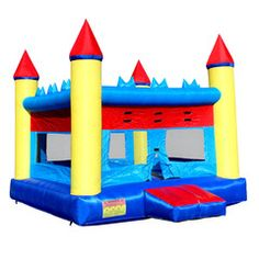 NEW Inflatable Bounce House Moonwalk Jumper Bouncer Bouncy Jump Castle | Commercial Bargains Inc.