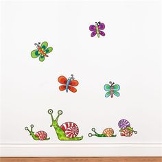 @rosenberryrooms is offering $20 OFF your purchase! Share the news and save!  Snails Wall Decal #rosenberryrooms