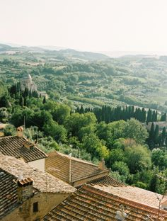View of Tuscany from La Foce | photography by http://fleeting-moments.tumblr.com/