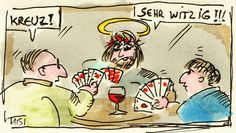 Loseblattsammlung: Skatspielen mit Jesus