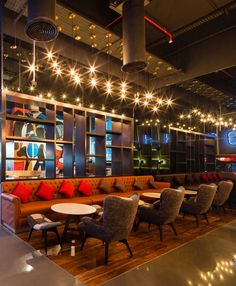 The Hangout Restaurant by Studio EM, Dubai – UAE. If you would like this in your space, City Lighting Products is the solution. https://www.linkedin.com/company/city-lighting-products