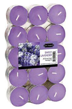 USA Tealight Sweet Lavander Tealights, 30-Pack USA Tealight https://smile.amazon.com/dp/B00TJZS6ZS/ref=cm_sw_r_pi_dp_x_hrJXyb4NX52GG