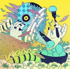 Craziest masago. // Illustration by Sasha Blosyak.