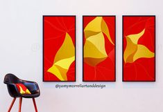 "29,40 € Buy ""Friendly betrayel"" instant download printable art by yamymorrell just with 1-clickl at Etsy.com    #art #abstract #colorful #homedecor #triptico #triptych Printable Art, Printables, Wall Murals, Wall Art, Triptych, Color Show, Happy Shopping, Giclee Print, Saatchi Art"