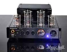 94.05$  Buy now - http://alie3m.worldwells.pw/go.php?t=32738664293 - Music hall 2016 NEW  Black Nobsound MS-10D MKII Tube Amplifier With Bluetooth/USB/headphone HIFI Stereo AMP Audio 220V 94.05$