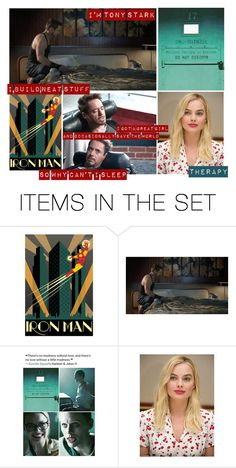 """""""Therapy - Harleen Quinzel (Harley Quinn) + Steve Rogers (Captain America)"""" by samantastark ❤ liked on Polyvore featuring art"""