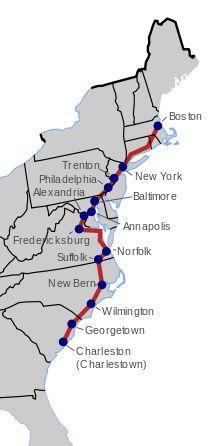 King's Highway (Charleston to Boston) - Wikipedia