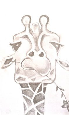Pretty and easy drawings funny giraffe drawing by on animal sketch drawing illustration inspiration pretty easy . pretty and easy drawings Easy Giraffe Drawing, Cute Easy Animal Drawings, Cute Drawings, Drawing Sketches, Pencil Drawings, Animal Sketches Easy, How To Draw Giraffe, Funny Easy Drawings, Sketching
