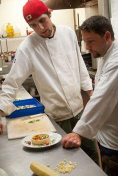 plating ideas in test kitchen