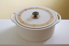 Vintage old George Briard lidded casserole by Timebanditvintage, $30.00