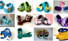 Crochet Baby Booties - Top 40 Free Crochet Patterns