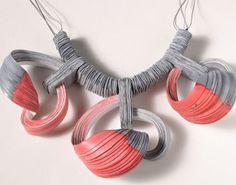 Lydia Hirte's paper jewelry