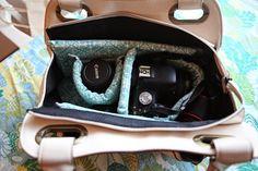 Stylische Kameratasche: Handtasche selber machen                                                                                                                                                      Mehr
