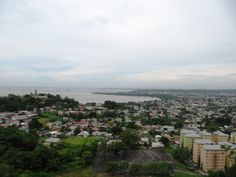 View of the west coast from San Fernando Hill