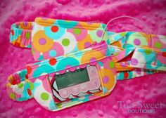 Toosweetboutique.come - adorable and girly pump pouches.  A great way to make type 1 diabetes fun.