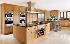 cocinas modernas con madera - Buscar con Google