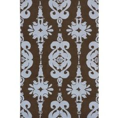 awesome Woodland Damask Rug in Choice of Color