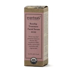 """Started by esthetician Evan Healy, this brand pulls from aromatherapy, ayurveda, and homeopathy to produce holistic skin care. The products are focused on essential oils like lavender, tea tree, and rose. """"They use a lot of organic ingredients, and it smells amazing,"""" said Giuliano. Evanhealy Rosehip Treatment Facial Serum ($26)"""
