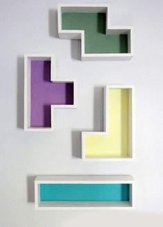 tetris duvar rafları - Mobilya 312895 | zet.com - colorful wall decor boxes