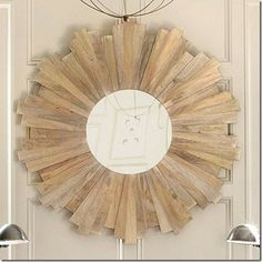» DIY Sunburst Mirror