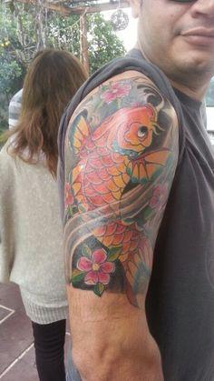 #Tatto #Koi