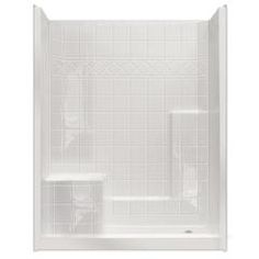 One piece shower, The idea of a one piece shower insert will ...