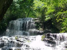 waterfall, oconee sc