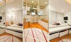 Apartamentos pequenos: boas soluções para compensar a falta de espaço | MdeMulher
