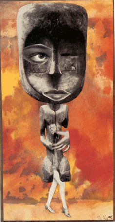Hannah Höch - Die Süsse (The Sweet One), 1926