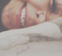 Nose hoop and smiley