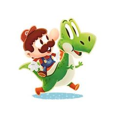 Adorables ilustraciones de personajes de videojuegos por Jelle Gijsberts - Despacho Creativo