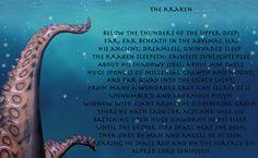 Kraken Poem - Ye520.net