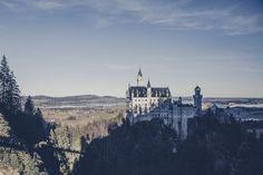 Chateau de Neuschwanstein sur le route romantique allemande