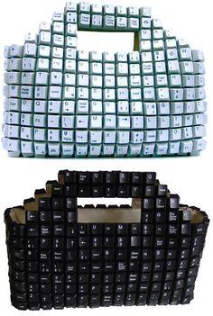 Keyboard Key Bag Design