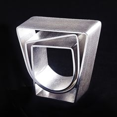 Strata Angle Ring | Contemporary Rings by contemporary jewellery designer DeeLyn Walsh