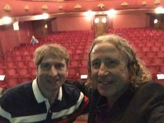 Con Marcos Alvarez en la 17ª #tmtvalencia en el maravilloso Teatro Talia