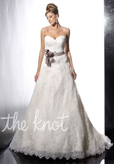 Check out this #weddingdress: 15497 by Christina Wu via iPhone #TheKnotLB from #TheKnot