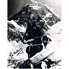 Edmund Hillary Signed Photograph at PFC Auctions. Online bidding ends September 27 2012. #auction #autographs