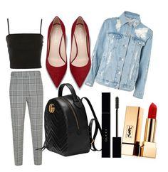 Designer Clothes, Shoes & Bags for Women Alexander Wang, Yves Saint Laurent, Topshop, Gucci, Shoe Bag, Chic, Polyvore, Fun, Stuff To Buy