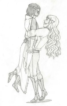 Erestor and Glorfindel.... I'm going to pin this everytime I see it because I just love it!