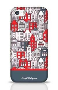 Netherlands Houses Set Apple iPhone 5S Phone Case