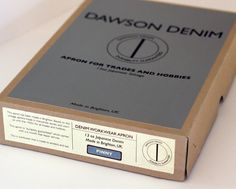 The Pinny Apron - Dawson Denim - Brands - raw japanese selvedge denim | raw indigo denim