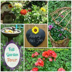 My Thrift Store Addiction : Secret Garden: The Fall Tour! #FallGarden #SecretGardenHerbs #Whimsy