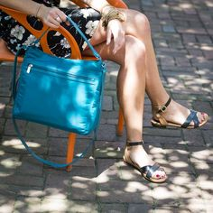 Everything Crossbody in Teal Affair - Bold and Beautiful.