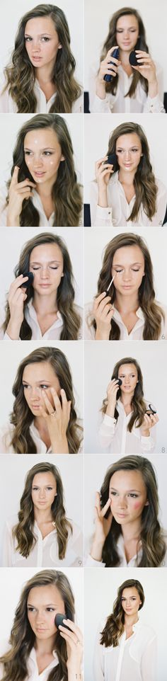 daily makeup routine flawless foundation from oncewed.com