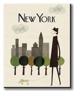 New York - Obraz na płótnie od Nice wall